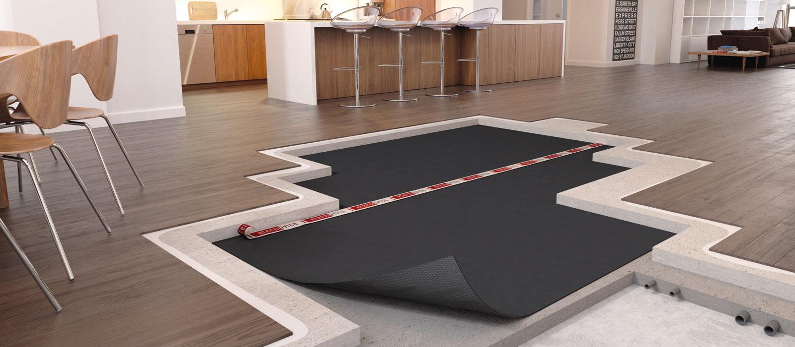 Battiscopa Staccato Dal Pavimento calpestio: come ridurre i rumori da impatto | acustica