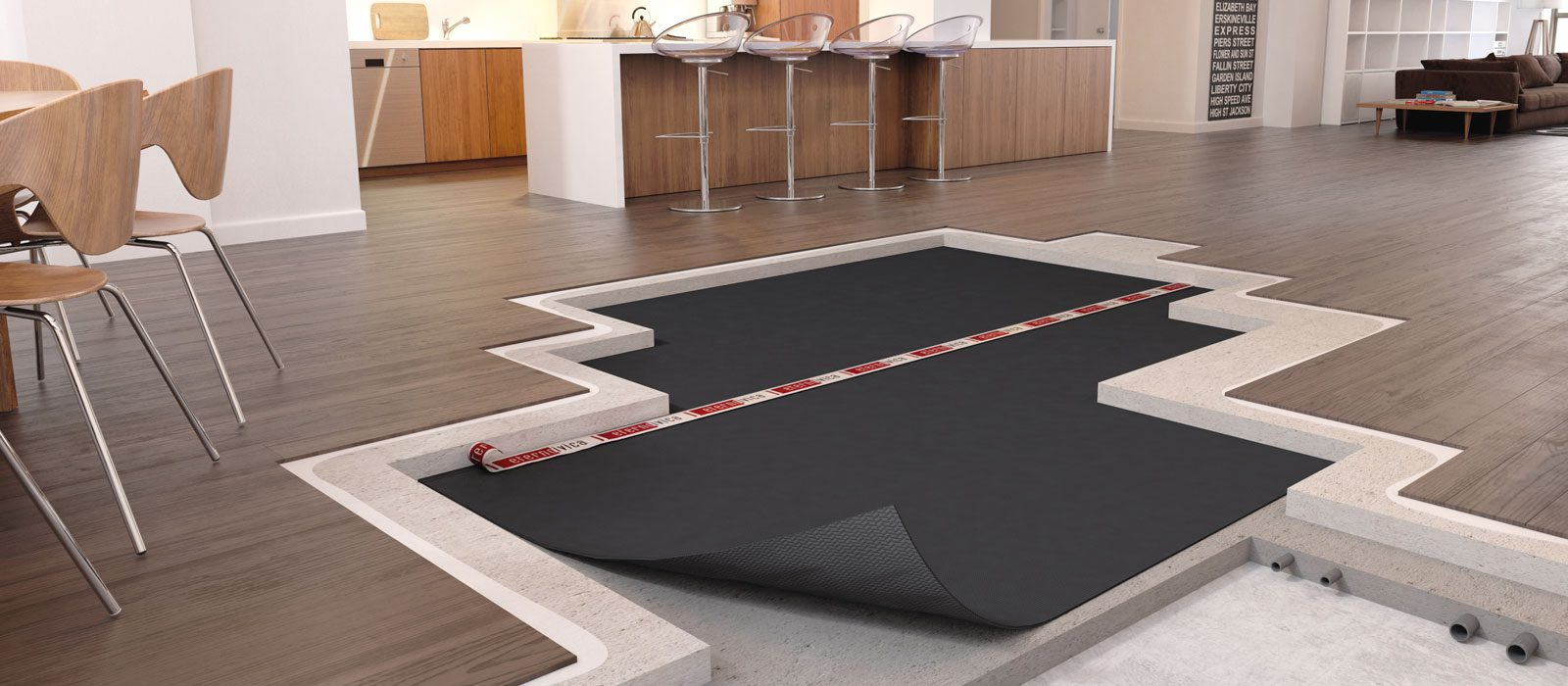 calpestio acustica pavimento galleggiante rumori impatto